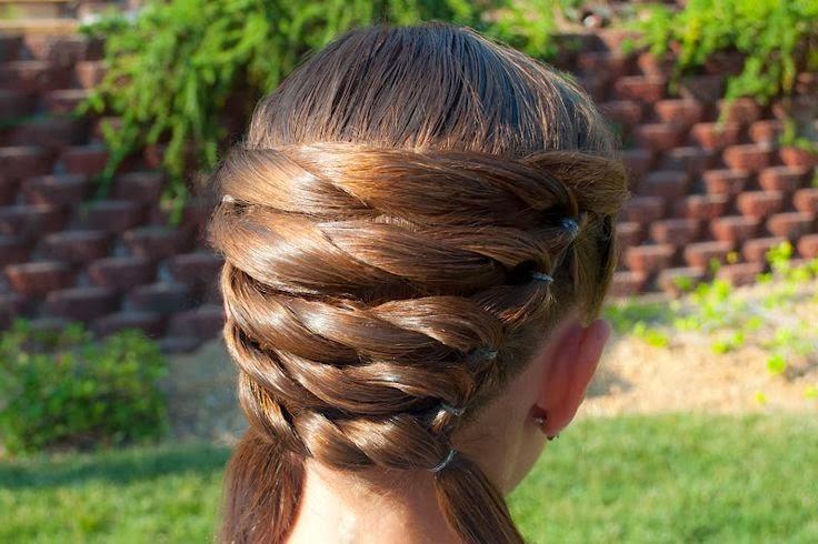 Peinados Originales, Niña de las Flores