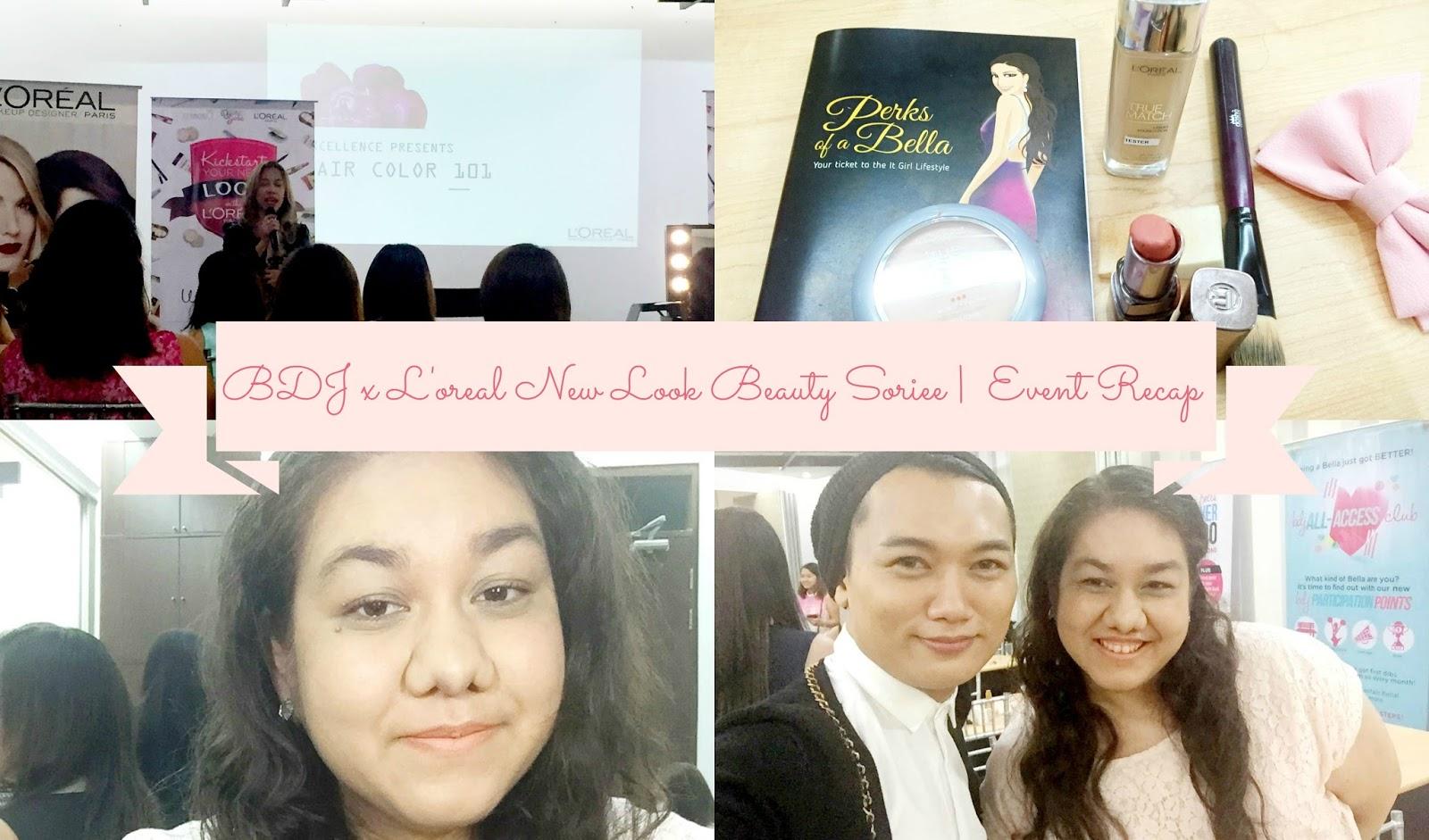 BDJ x L'oreal New Look Beauty Soiree | Event Recap