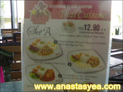 Thai Cuisine Restoran Black Canyon