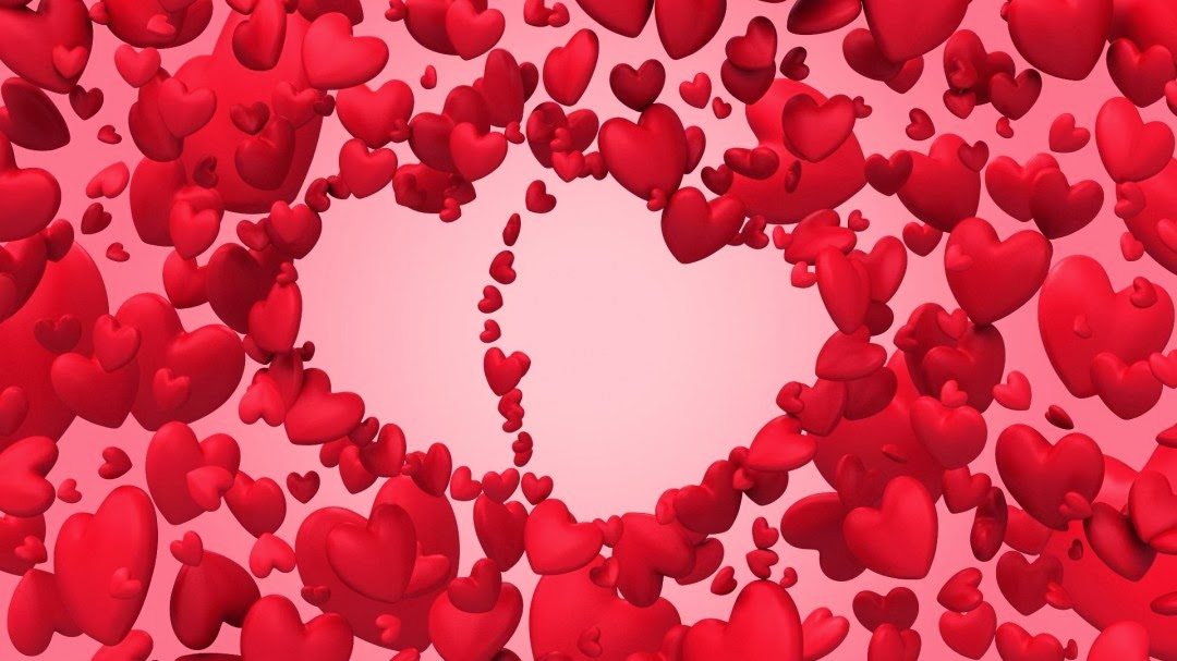 Happy-Valentines-Day-Made-Two-Hearts-With-So-Many-Hearts-Image-Wide-HD