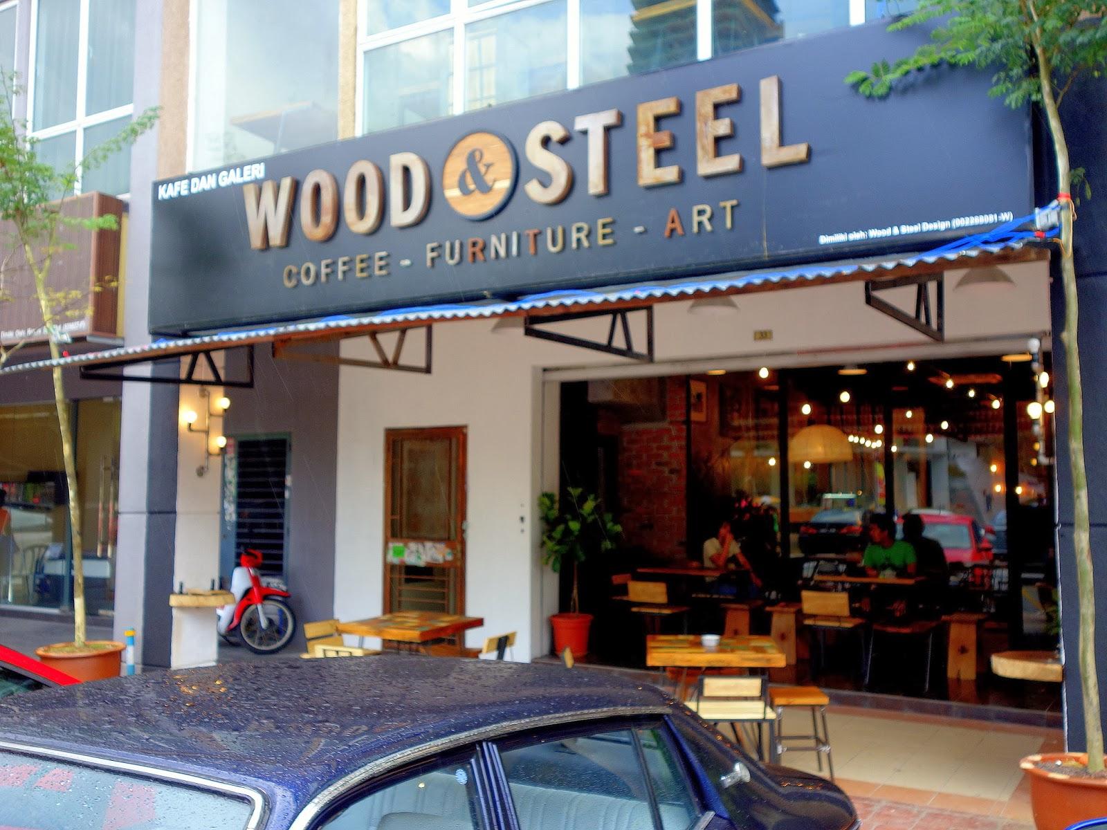 Eat drink kl wood steel kota damansara cafe amo