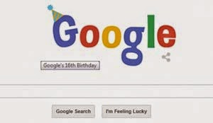 Ulang tahun Google ke 16 menjadi google doodle