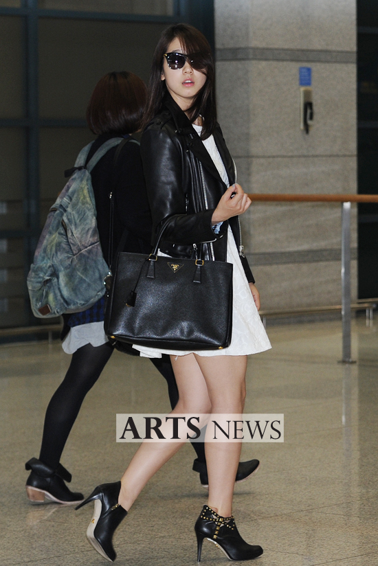 Holyitskpop Whatshewore Park Shin Hye 39 S Airport Fashion