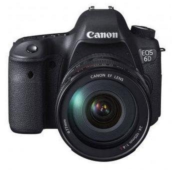 Harga dan Spesifikasi Kamera DSLR Canon EOS 6D