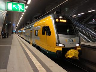 Regionalverkehr: Tag der offenen Tore der ODEG in Eberswalde