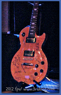Rock Bottom Remainders autographed guitar