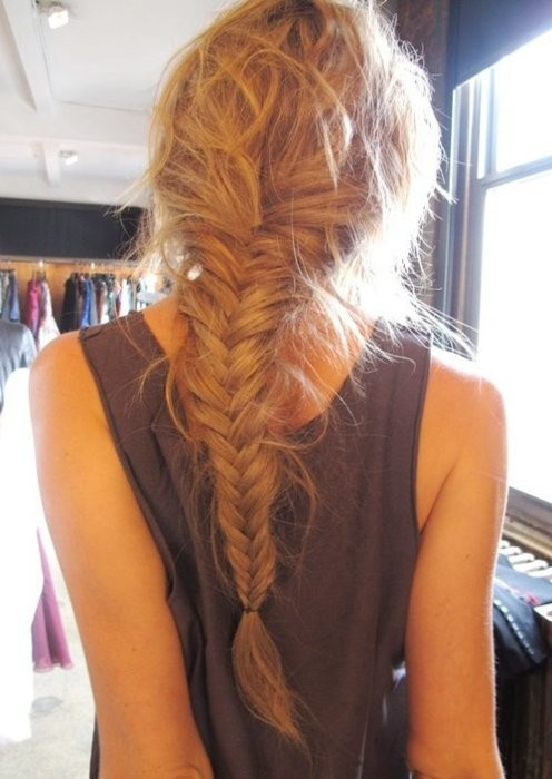 Unstructured ramblings of my life fishtail braid for Fish tails braid