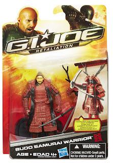 Hasbro GI Joe Retaliation Budo Figure