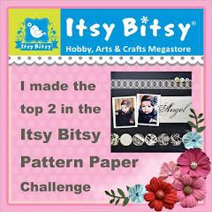 I won at Itsy Bitsy