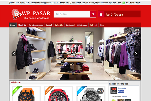 Download wp-pasar theme - Download Free Gratis Theme Premium