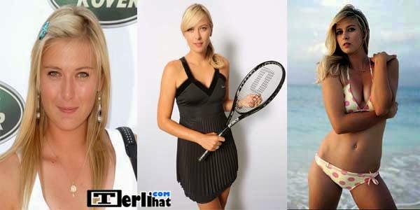 Atlet Wanita Tercantik dan Terseksi Di Dunia Maria Sharapova