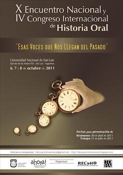 Encuentro Historia Oral 2011