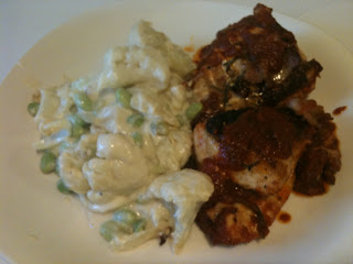Low Carb Hunters Chicken with Cauliflower Casserole