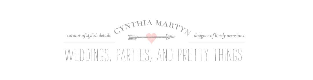 Cynthia Martyn Events Blog | Toronto Wedding Planner | Toronto Event Designer | Inspirations
