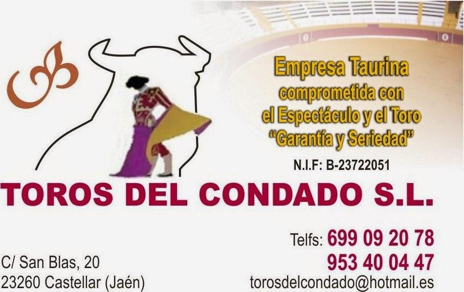 DATOS DE TOROS DEL CONDADO S.L