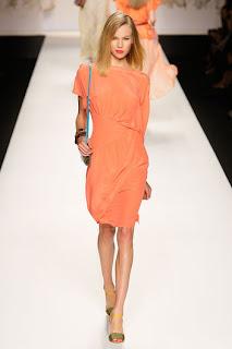 fotos de vestidos laranja