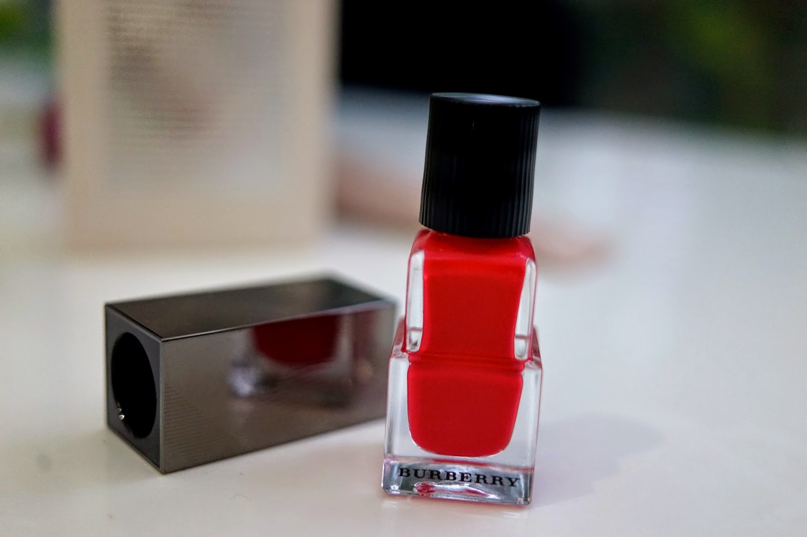 Burberry nail varnish