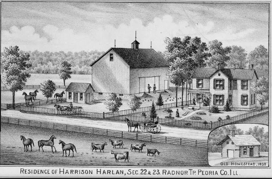 Harlan Farm in Illinois