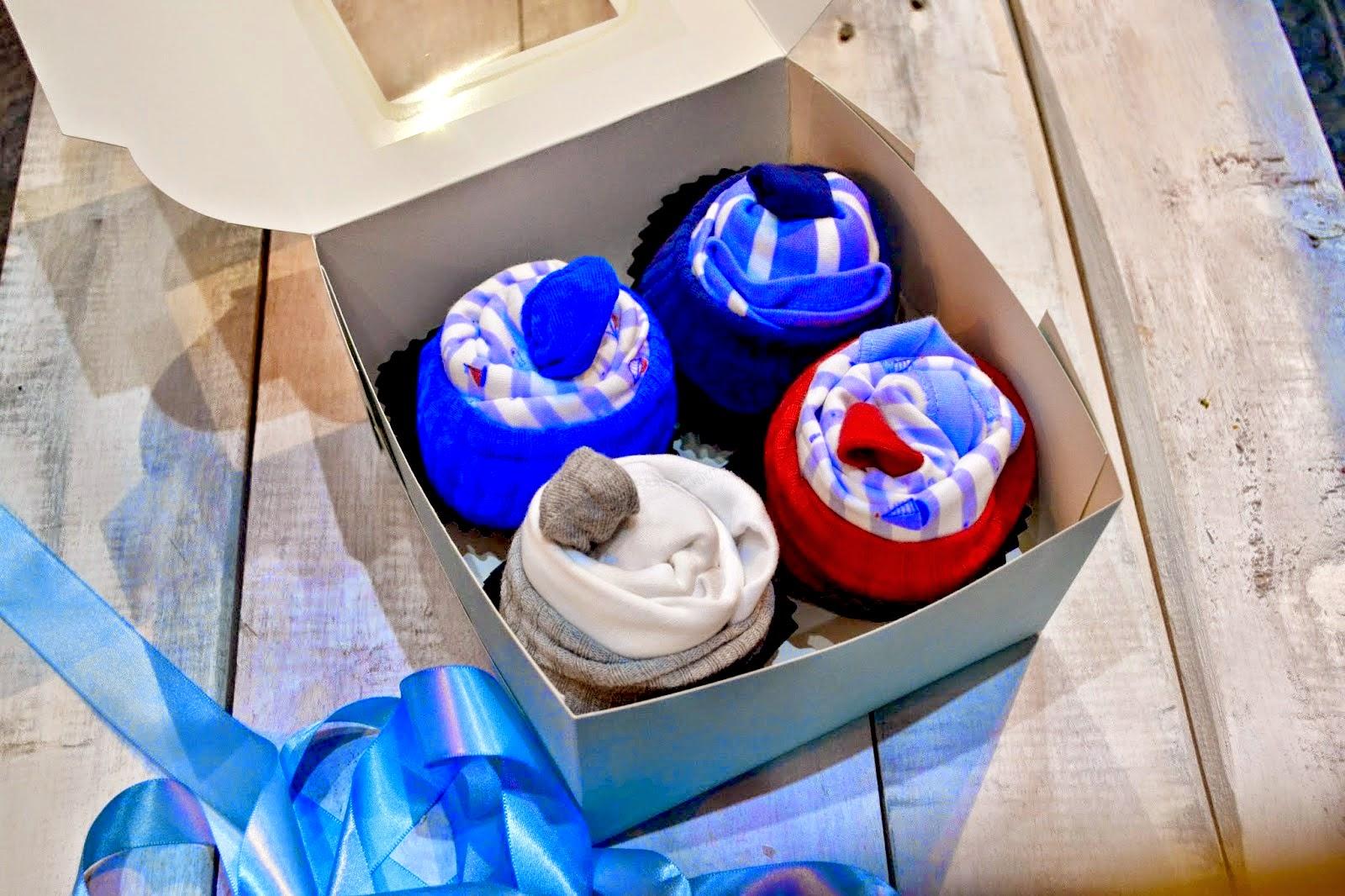 Babygrow Cupcake tutorial