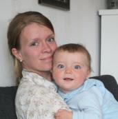 Benjamin og mamma