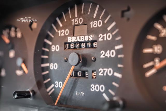 brabus speedometer