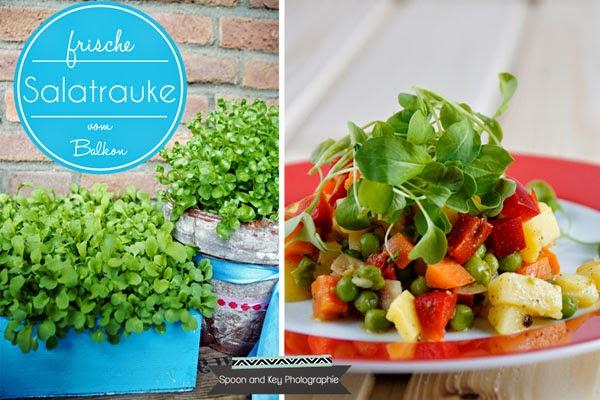 Rezept Kartoffelsalat mit Portulak vegetarisch