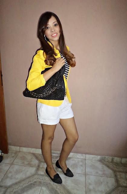 6 opções de looks com blazer amarelo