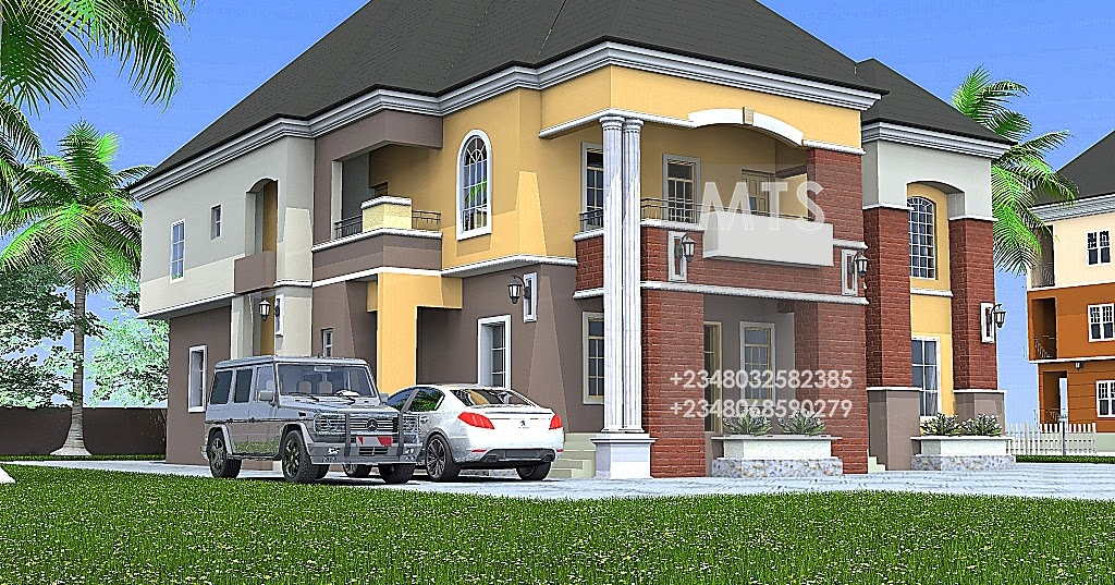 Residential homes and public designs mr richard 4 bedroom for 4 bedroom duplex designs