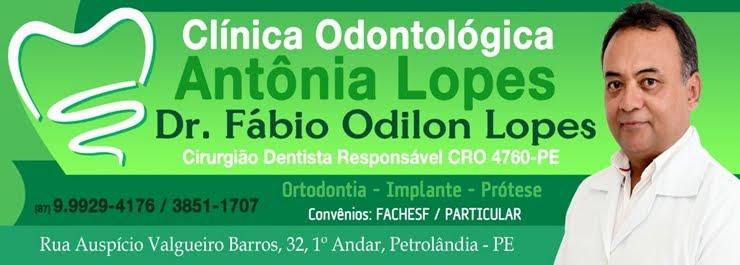 CLÍNICA ODONTOLÓGICA ANTÔNIA LOPES