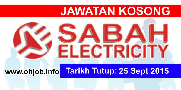 Jawatan Kerja Kosong Sabah Electricity logo www.ohjob.info september 2015