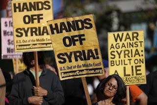 Britain tak akan sertai AS serang Syria
