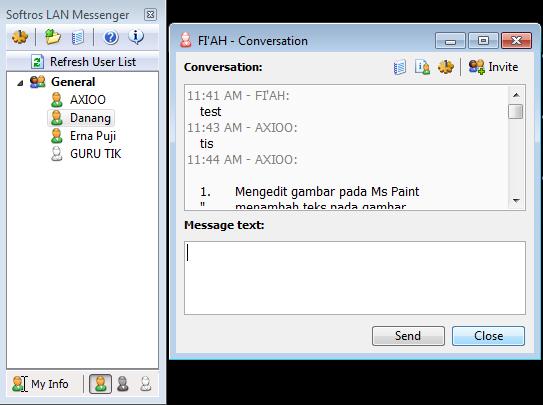 Aplikasi chatting lan terbaik