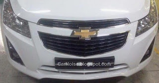 Spy Photo: 2012-2013 Chevrolet Cruze Facelift