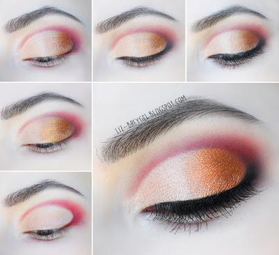liz breygel makeup christmas new year tutorial step by step glam glamorous look