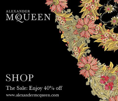 Alexander McQueen | Fashion | Designer | Clothing | Shoes | Handbags | Sale