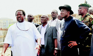 And the President Finally Visit Thisday Bomb Site