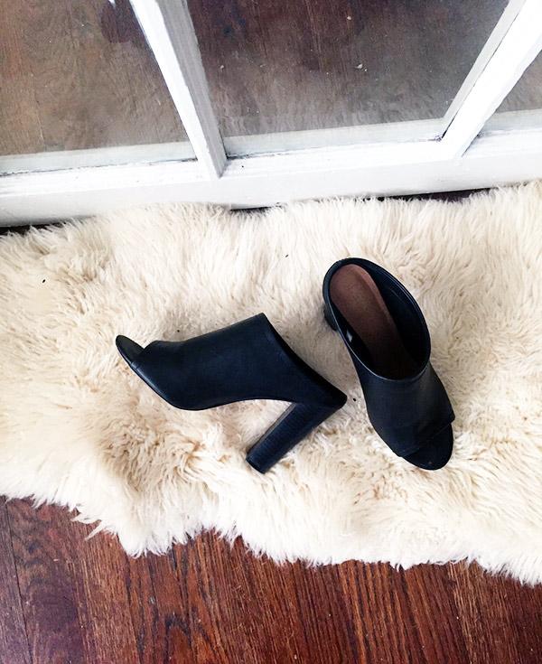 mules, fall footwear, fall fashion