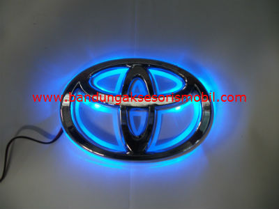 Front Logo+Lampu Toyota Besar