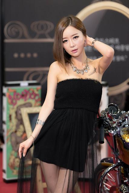2 Song Yee Na - 2015 Seoul Auto Salon - very cute asian girl-girlcute4u.blogspot.com