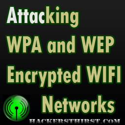 Attack WEP and WPA Fern Wifi Cracker