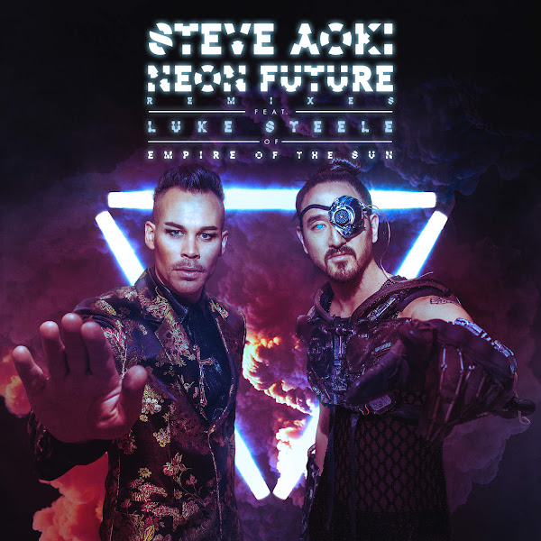 Steve Aoki - Neon Future (feat. Luke Steele) [Remixes] Cover