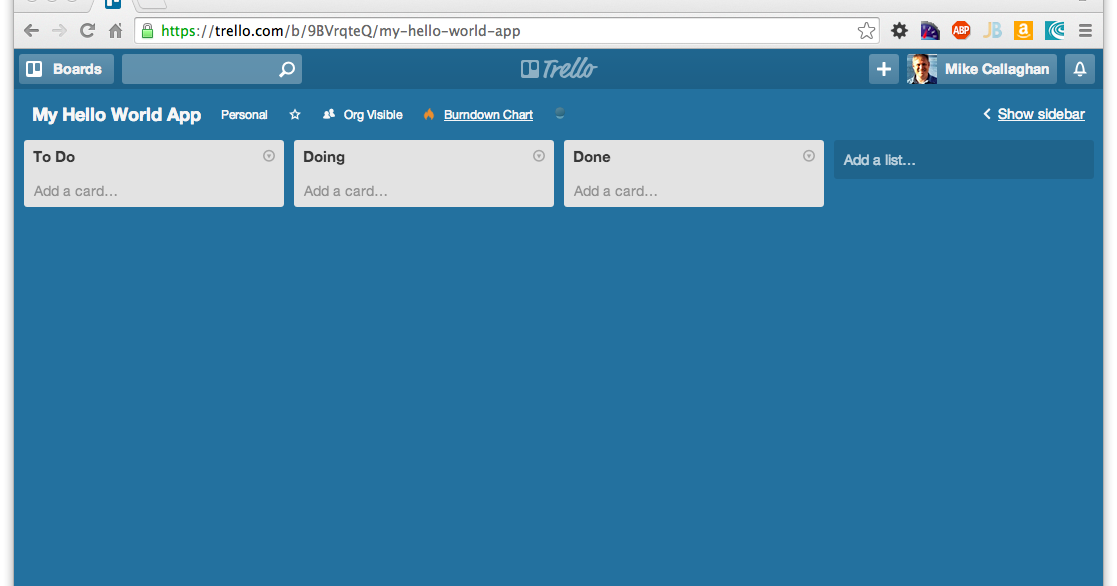 Easy Agile Planning with Trello