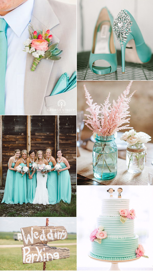 Wedding Color Themes | Top Five Wedding Colors For Spring 2016 Simple Elegance