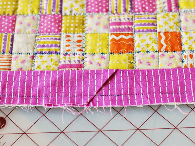 Bijou Lovely: Quilting Basics: Attaching Binding to a Quilt : joining quilt binding - Adamdwight.com
