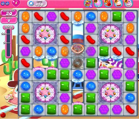 Candy Crush Saga 450