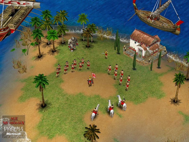 Игру Age Of Mythology: The Titans