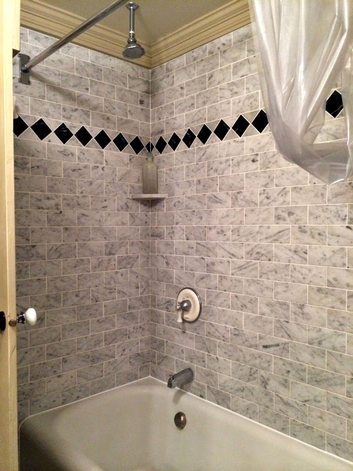 More Caulking Photos of My DIY Bathtub Project | Content in a Cottage