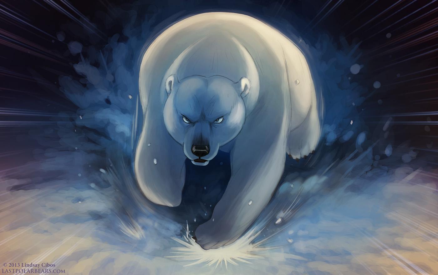 Lindsay Cibos Art Blog Mother Bear Rage