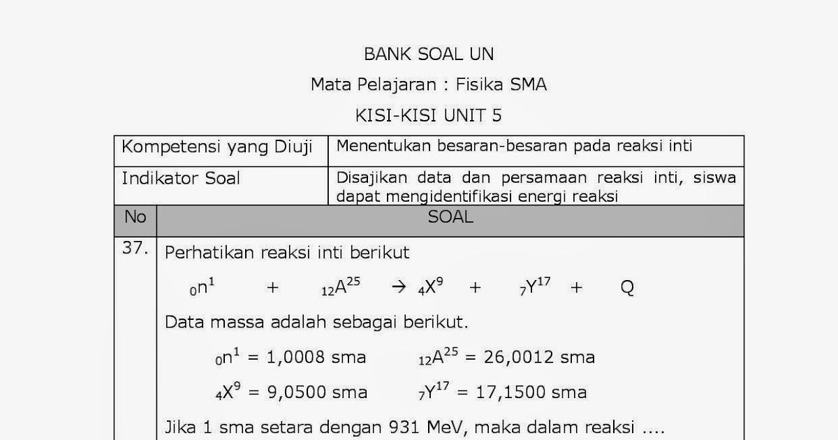 Achmad Saifudin 33 Pembahasan Soal Soal Un Fisika