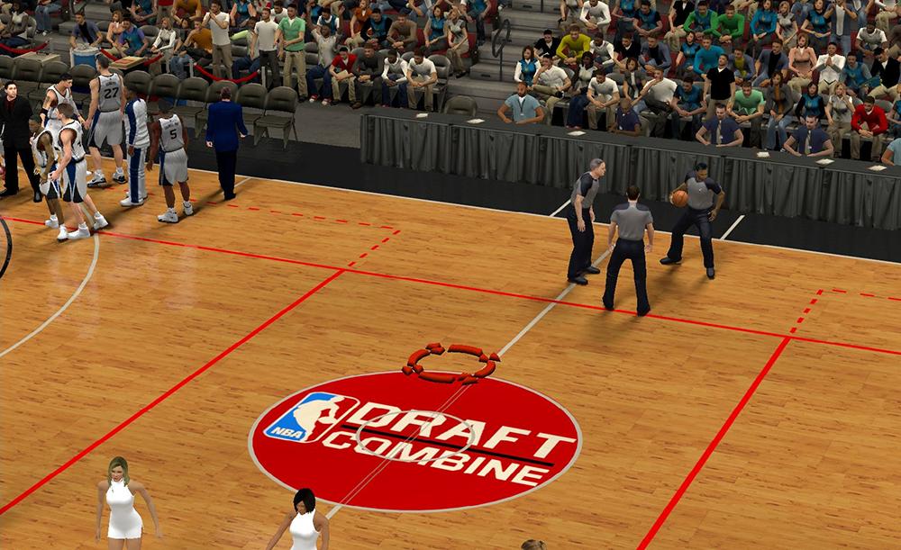 NBA 2K14 Draft Combine Arena Mod